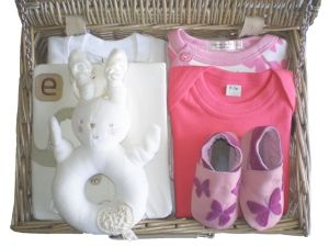 Three Little Kittens Baby Gift Box by Mulberry Organics